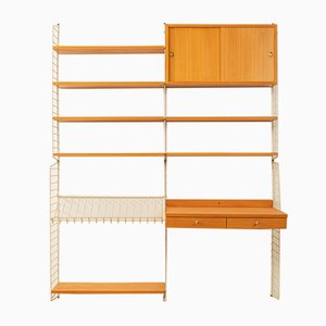 Wall Unit by Kajsa & Nils ''Nisse'' Strinning for String, 1950s