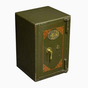 English Steel Safe from Withy Grove, 1920s