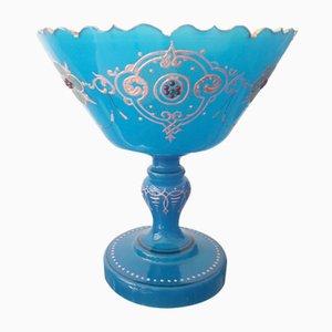 Antique Opaline Glass Bowl