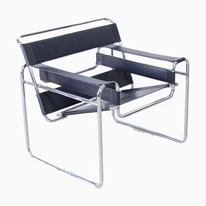 Wassily Lounge Chair by Marcel Breuer, 1980s