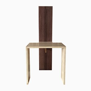 Maple and Rosewood Cimabue Chair by Ferdinando Meccani for Meccani Arredamenti, 1990s