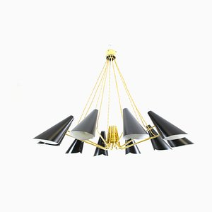 Large Chandelier by J. T. Kalmar for Kalmar, 1950s