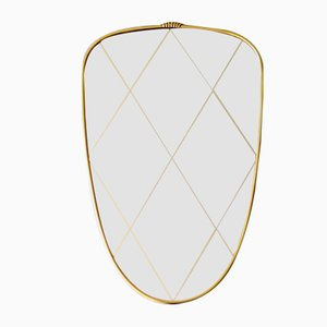 Mid-Century Princess Mirror, 1960s