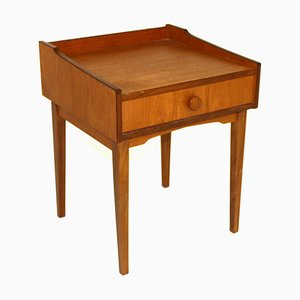 Mid-Century Swedish Teak Nightstand, 1960s