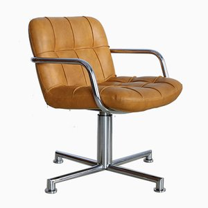 Office Swivel Chair by Yves Christin for Airborne, 1970s