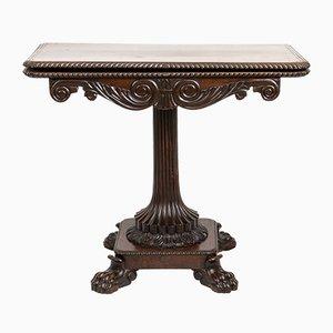 Antiker italienischer Spieltisch aus Palisander