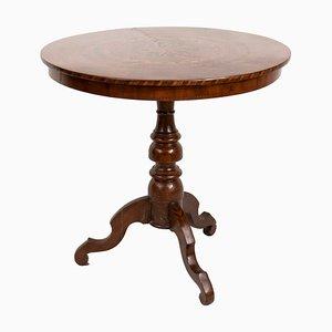 Tavolino con intarsi geometrici di Ebanisteria di Rolo, Italia, XVIII secolo