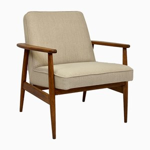 Vintage Lounge Chair by M. Zielinski for Glucholaskie, 1960s