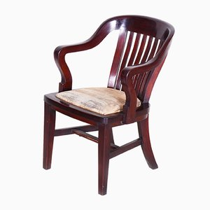 19th Century Biedermeier Mahogany Armchair, Germany, 1840s