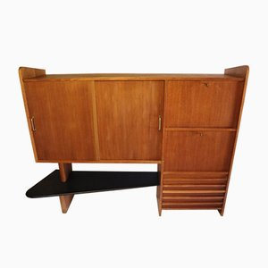 Vintage Oak Buffet, 1950s