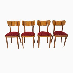 Chaises de Salon Vintage Art Déco, 1960s, Set de 4