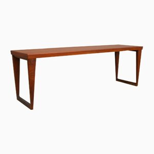 Danish Teak Bench by Kai Kristiansen for Aksel Kjersgaard, 1960s