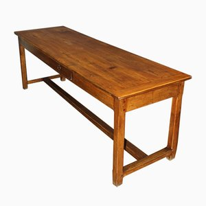19th Century Walnut Farm Table