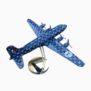 Shop Window Display Airplane Model by Louis Vuitton, 1980s