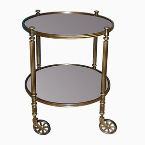 Mid-Century Brass and Glass Trolley, 1960s