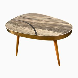 Table en Forme de Haricot en Forme de Haricot en Formica, 1950s