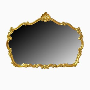 Large Vintage Rococo Style Wall Mirror, 1990s