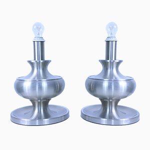 Mid-Century Tischlampen, 2er Set