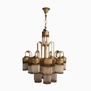 Vintage 12-Light Liberty Chandelier, 1950s