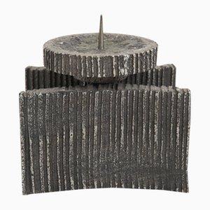 Brutalist Candleholder, 1970s