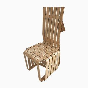 Chaise Haute Sticking par Frank Gehry pour Knoll Inc. / Knoll International, 1990s