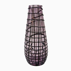 Large Glass Vase by Paolo Crepax for Vistosi, 2002