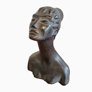 Female Bust by Carlo Alberto Rossi for Manifattura Rossi, 1940s