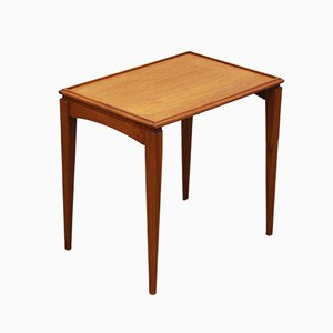 Mid-Century Scandinavian Teak Side Table