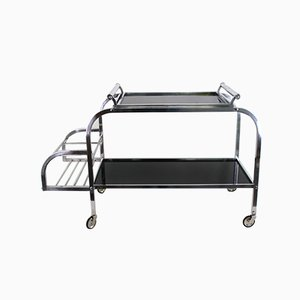 Vintage Art Deco Bar and Tea Trolley