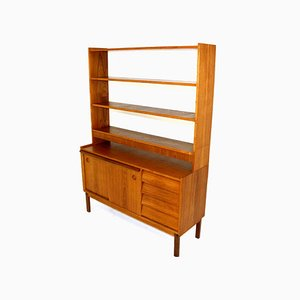 Mid-Century Teak Dresser and Shelf, 1960s