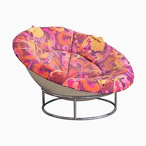 Vintage Birds Nest Lounge Chair in th Style of Verner Panton