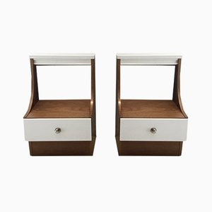 Vintage French Nightstands, 1960s, Set of 2