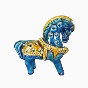 Ceramic Horse by Aldo Londi for Bitossi, Italy, 1950s