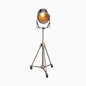 Projektor Stehlampe von AE Cremer, 1940er