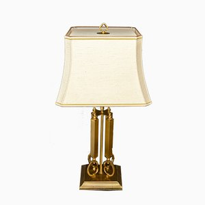 Large Brass Table Lamps from Deknudt, 1978, Set of 2