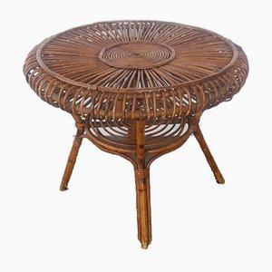 Wicker Coffee Table, 1960s