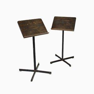 Support de Menus pour Musique ou Restaurant Mid-Century, Set de 2