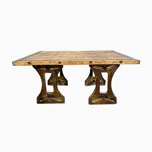 Table Basse Industrielle, 1950s