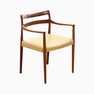 Scandinavian Rosewood Lounge Chair, 1960s