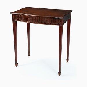 Antique Mahogany Adams Style Side Table, 1910s
