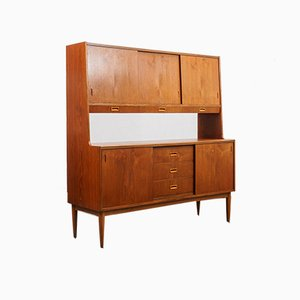 Scandinavian Style Teak Highboard, 1960s