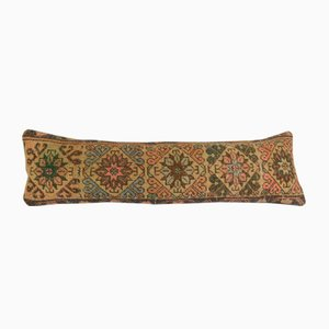 Distressed Turkish Oushak Rug Bedding Cushion Cover