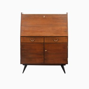 Vintage Secretaire in Walnut, 1950s