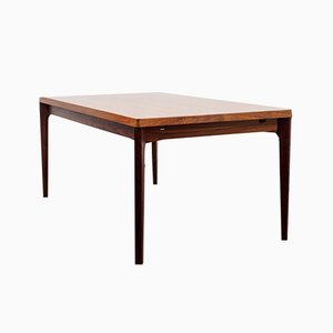 Large Danish Rosewood Dining Table by Henning Kjærnulf for Vejle Mobelfabrik, 1960s