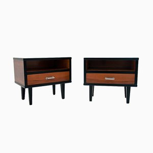 Art Deco Nightstands, 1970s, Set of 2
