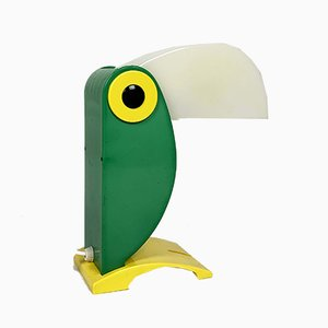 Green Toucan Table Lamp from Old Timer Ferrari, 1960s
