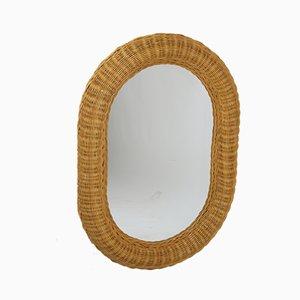 Vintage Rohan Oval Mirror, 1960s