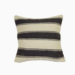 Striped Turkish Hemp Cushion Cover