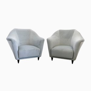 Mid-Century Lounge Chairs by Ico Parisi for Ariberto Colombo, Italy, 1951, Set of 2
