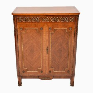 French Gilt Bronze Mounted King Wood Cabinet, 1920s